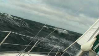 Sturm-Segeln auf der Ostsee