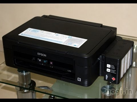 Epson L210 review. Unboxing - All In One printer with ultra low running cost