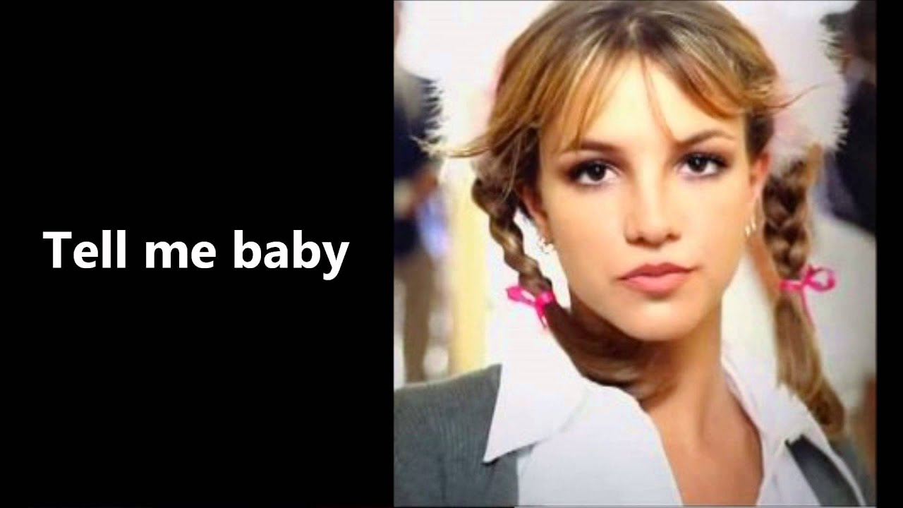 Lyrics of baby one more time