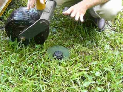 Fixing Or Replacing A Broken Sprinkler Head Install A