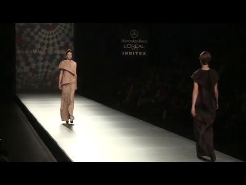 Colección AA de Amaya Arzuaga- Cibeles Fashion week