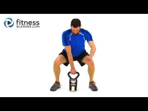 Advanced Kettlebell Workout - Calorie Blasting Weight Loss Kettlebell Routine Image 1