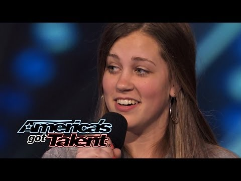 "Julia Goodwin: 15-Year-Old Singer's Cool ""New York State of Mind"" Cover - America's Got Talent 2014"
