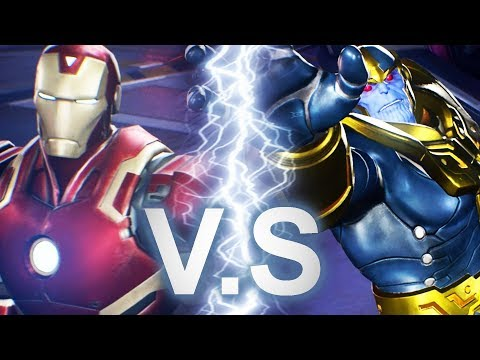 Marvel vs Capcom: Infinite - Iron Man VS Thanos Battle Scene [FULL] thumbnail