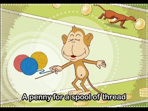 Pop! Goes The Weasel   | nursery rhymes & children songs with lyrics