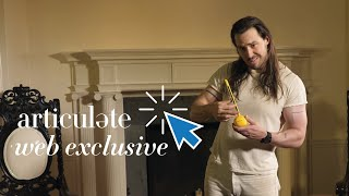 Andrew W.K. Tries Out Unusual Instruments