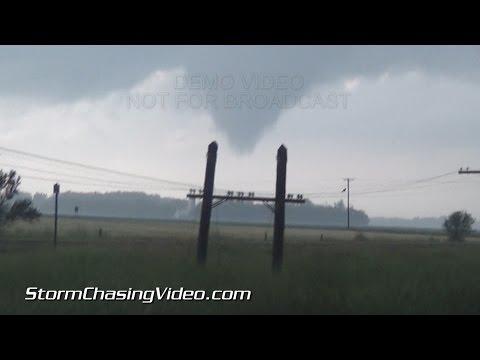 7/12/2015 Central Minnesota Tornado & Lightning B-Roll.
