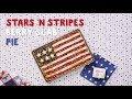 Stars-and-Stripes Berry Slab Pie