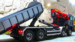 AMAZING RC TRUCK with hydraulic crane from SclaeART