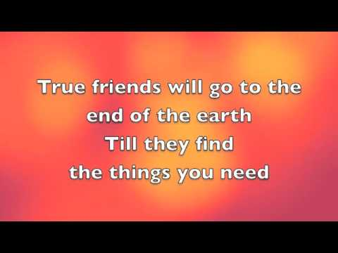 Miley Cyrus True Friend Lyrics on True Friend Miley Cyrus  Lyrics