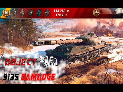 World of Tanks | ОБЪЕКТ 705А ЭПИЧНЫЙ БОЙ | 9135 УРОНА