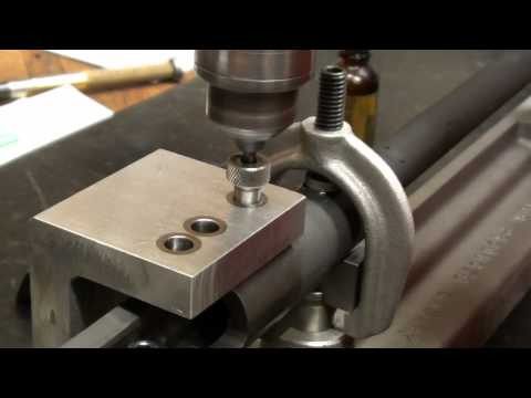 Sporterizing the Mosin Nagant Part 8- Drilling and Tapping for the Rock Solid Mount