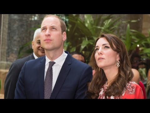 Prince William and Kate Middleton tour India