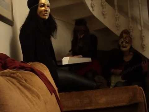Sex Wearing Masks!15 Years Old Girls' Threesome! video