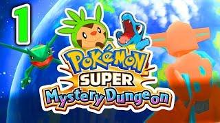 Pokemon SUPER Mystery Dungeon - Episode 1 - OUR ADVENTURE BEGINS!