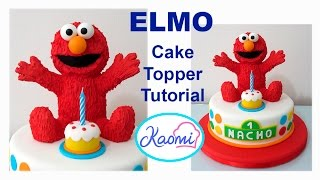 download lagu How To Make Elmo Cake Topper / Cómo Hacer gratis