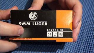 RWS 9mm Ammo FAIL!