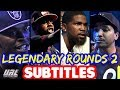 Legendary Rounds Vol 2 SUBTITLES   Hitman Holla, Tsu Surf, Hollow Da Don, K Shine | Masked Inasense