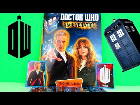 Doctor Who Regeneration Sticker Album Review & Pack Opening, Topps