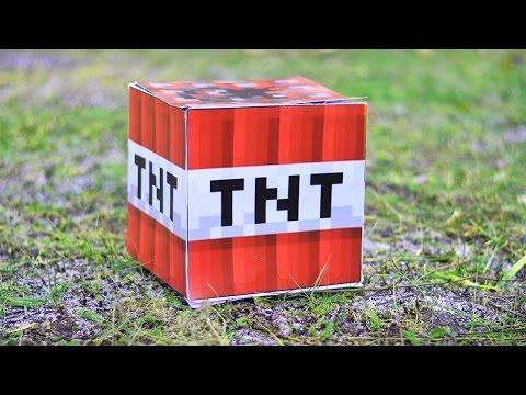ТНТ МАЙНКРАФТ В РЕАЛЬНОЙ ЖИЗНИ - ТОП 5 ВЗРЫВОВ!  | TNT MINECRAFT IN REAL LIFE + EXPLOSIONS!
