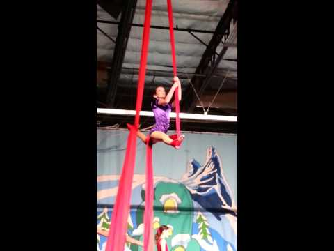 Amber's Aerial Arts Performance 12-8-13 video