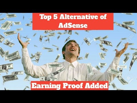 Top 5 Alternative Of AdSense (Earning Proof Added)