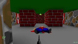 Wolfenstein 3D TC: Spear of Destiny (IADI, 100%) - 01 - Tunnels 1 (4K)