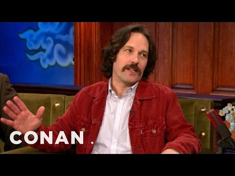 "Paul Rudd's EXCLUSIVE ""Anchorman 2"" Clip - CONAN on TBS"