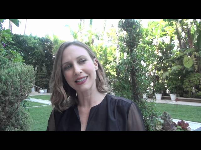 Vera Farmiga speaks with the HFPA