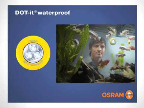 Osram: DOT-it Waterproof - die Innovation des Jahres