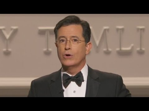 Colbert on the First Lady's courage