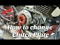 Clutch Plate Change || Honda CB Tigger || Stap by Stap|| Bike Maintenance