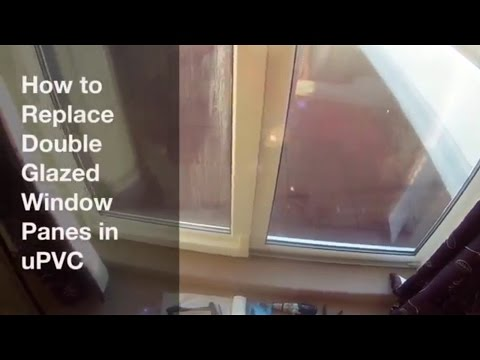 How to Replace Double Glazing in uPVC Windows - DIY Window Replacement