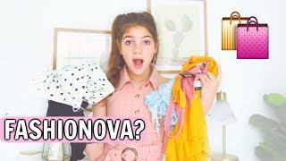 Fashion Nova teen HONEST review try on haul! is it worth it? *BUYER BEWARE*