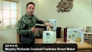 Morphy Richards Coolwall Fastbake Bread Maker by 24studio