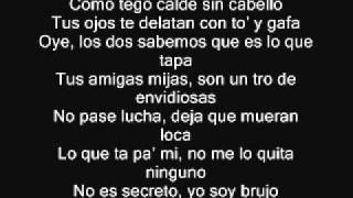 Download lagu Plan B Ft. Tego Calderon - Es Un Secreto Remix Letra Lyrics
