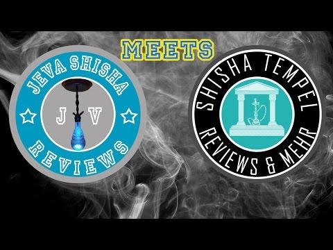 Jeva Shisha meets Shisha Tempel   PX1, Al Kashmir und NEWS