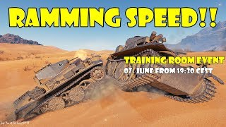 RAMMING SPEED! (World of Tanks - Training Room Event)