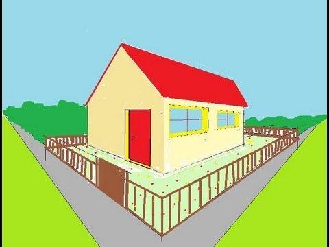 Dessiner en perspective 11 20 porte et fen tre en 3d for Dessiner une maison en 3d