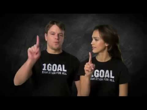 1GOAL (Campaing Celebrities Support 1GOAL)