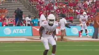 Texas Football's Defense featured on College GameDay