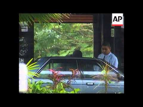 FIJI: SPEIGHT AND MILITARY TALKS AFTER COUP