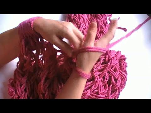 Bufanda infinita con las manos / Infinite scarf with your hand( English Subtitles)