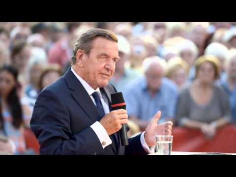 Gerhard Schroeder Merkel no debe ignorar la opinión de Rusia