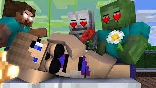 Monster school : Zombie Love Girl | Life17 - Minecraft Animation