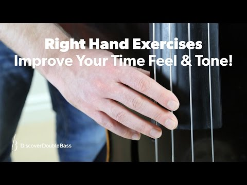 Upright bass exercises