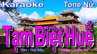 Nhạc Trữ Tình Quê Hương Lay Động Triệu Con Tim Hay Nhất - BEAT Tạm Biệt Huế Karaoke ( FA Trưởng )