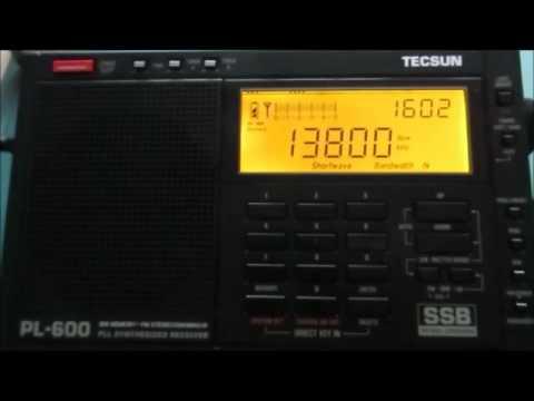 13800 Khz Radio Dabanga via Madagascar
