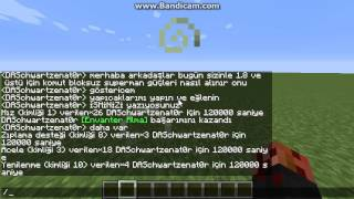 Minecraft komut bloksuz superman olmak