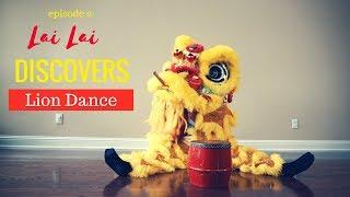 Lion Dance Pet - Lai Lai Discovers How To Do Lion Dance (舞狮, Múa Lân)